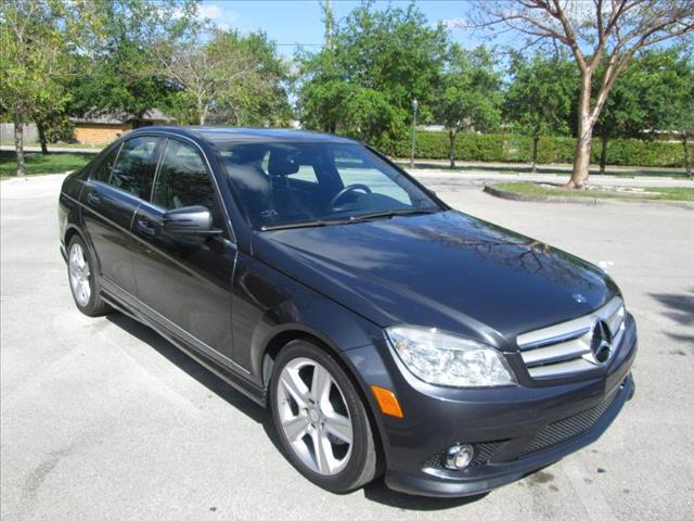 2010 MERCEDES-BENZ C-CLASS gray clean title runs like new no accidents leather interior
