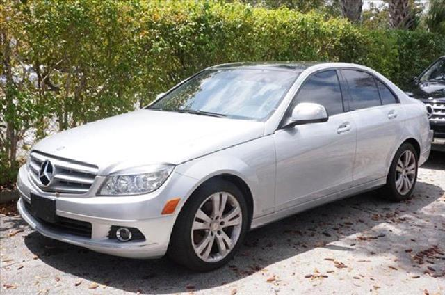 2008 MERCEDES-BENZ C-CLASS silver air conditioning power windows power locks power steering ti