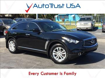 2013 Infiniti FX37 for sale in Miami, FL