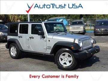 2010 Jeep Wrangler Unlimited for sale in Miami, FL