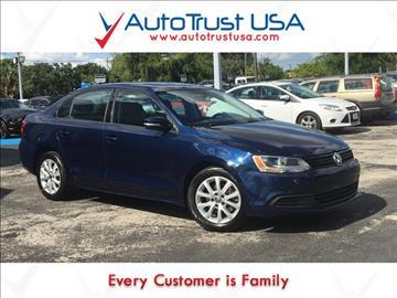 2012 Volkswagen Jetta for sale in Hollywood, FL