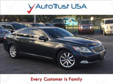 2008 Lexus LS 460 for sale in Hollywood, FL