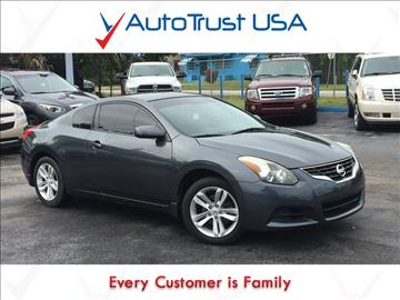 2011 Nissan Altima for sale in Hollywood, FL