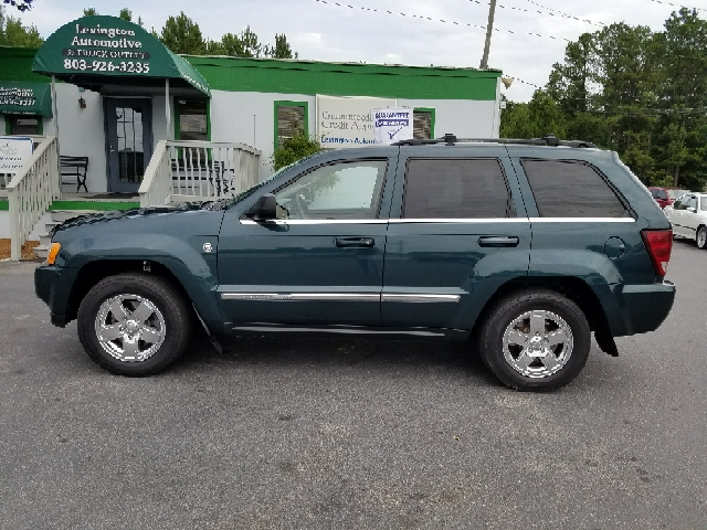 2006 JEEP GRAND CHEROKEE LIMITED 4DR SUV 4WD W FRONT SID blue 4wd selector - electronic 4wd typ