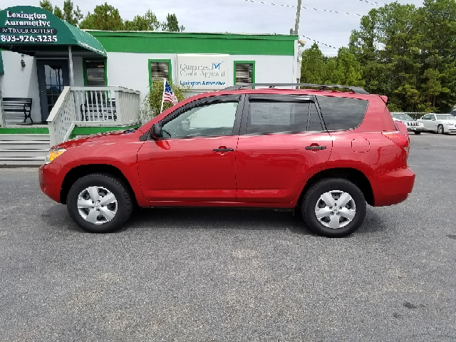 2008 TOYOTA RAV4 BASE 4DR SUV red 2-stage unlocking doors abs - 4-wheel airbag deactivation - o