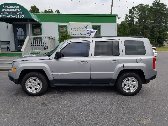 2015 JEEP PATRIOT SPORT 4DR SUV silver 2-stage unlocking doors abs - 4-wheel active head restra