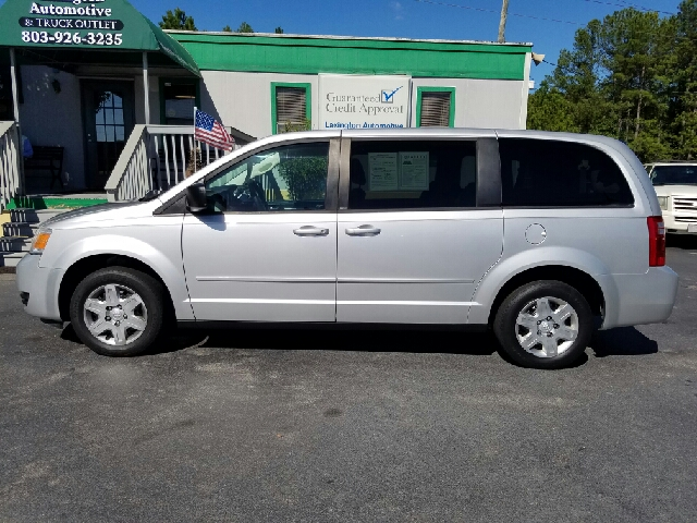 2010 DODGE GRAND CARAVAN SE 4DR MINI VAN silver 2-stage unlocking doors abs - 4-wheel active he