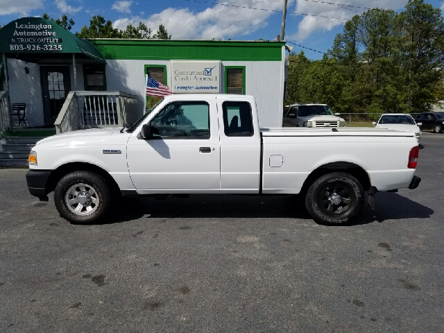 2011 FORD RANGER XL FLEET 4X4 2DR SUPERCAB white 4wd selector - electronic hi-lo 4wd type - part