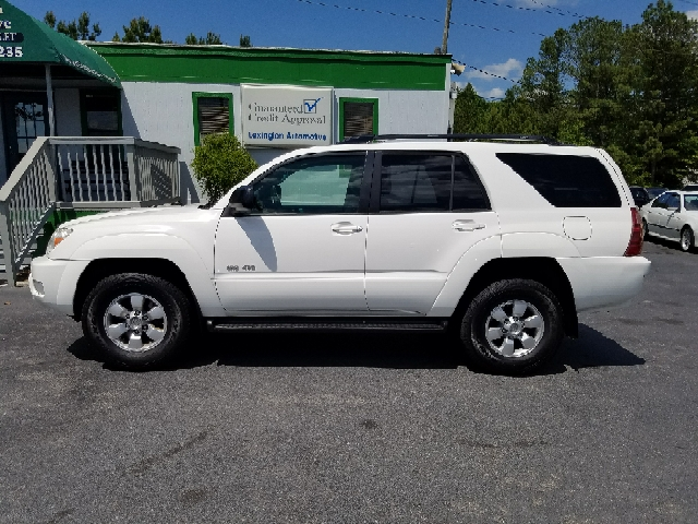 2005 TOYOTA 4RUNNER SR5 4WD 4DR SUV white abs - 4-wheel axle ratio - 391 cassette center cons