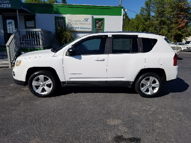 2011 JEEP COMPASS LATITUDE 4DR SUV white abs - 4-wheel active head restraints - dual front airb