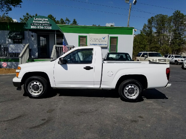 2012 CHEVROLET COLORADO WORK TRUCK 4X2 2DR REGULAR CAB white abs - 4-wheel airbag deactivation -