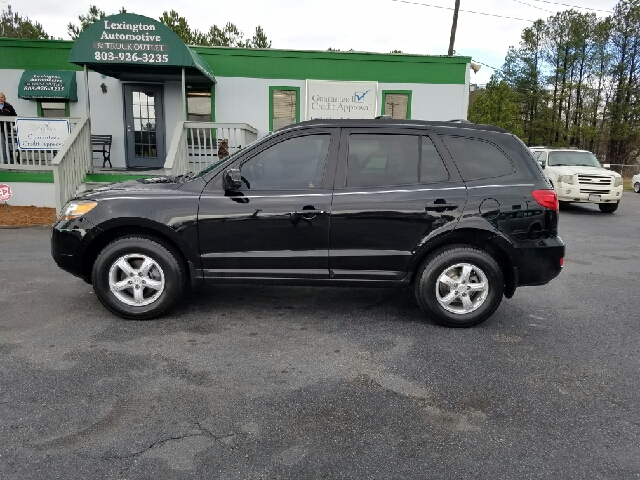 2008 HYUNDAI SANTA FE GLS AWD 4DR SUV black 2-stage unlocking doors 4wd type - on demand abs -