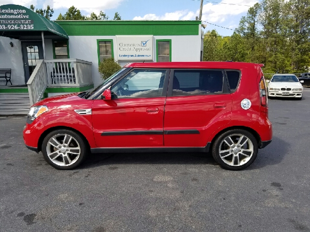 2010 KIA SOUL SPORT 4DR WAGON 4A red abs - 4-wheel active head restraints - dual front airbag d
