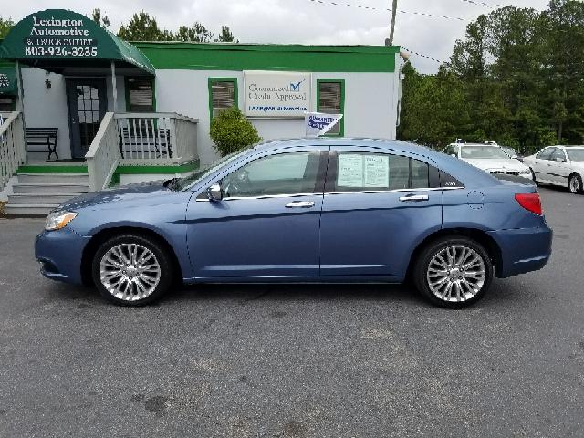 2011 CHRYSLER 200 LIMITED 4DR SEDAN blue 2-stage unlocking doors abs - 4-wheel active head restr