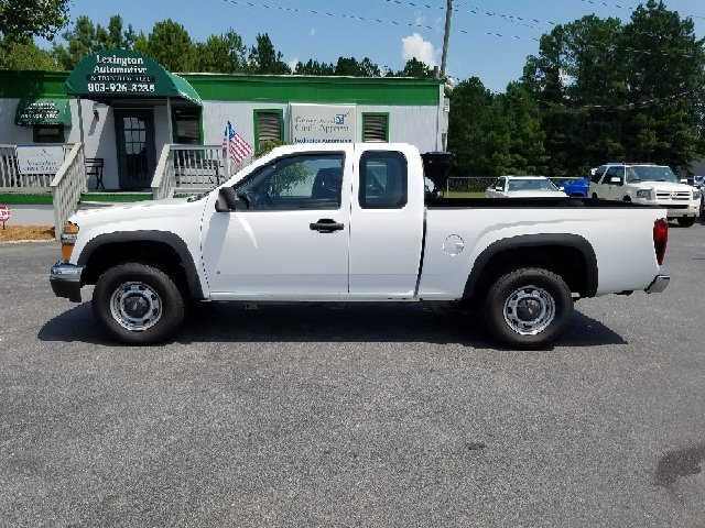 2006 CHEVROLET COLORADO BASE 4DR EXTENDED CAB 4WD SB white 4wd selector - electronic 4wd type -