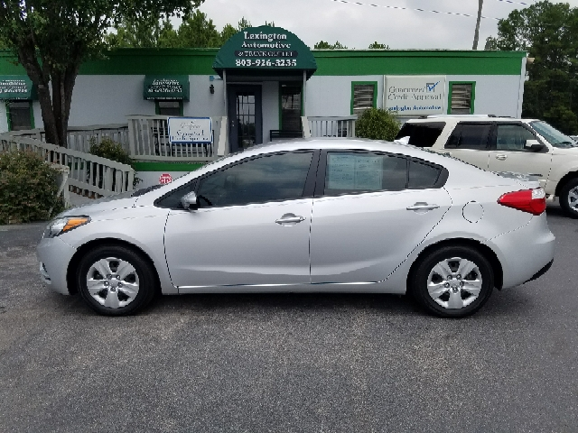 2015 KIA FORTE LX 4DR SEDAN 6A silver abs - 4-wheel airbag deactivation - occupant sensing passe