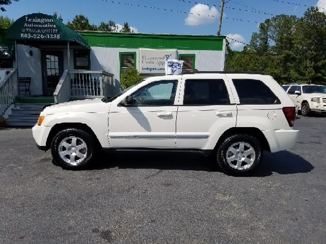 2010 JEEP GRAND CHEROKEE LAREDO 4X4 4DR SUV white 2-stage unlocking doors 4wd type - full time