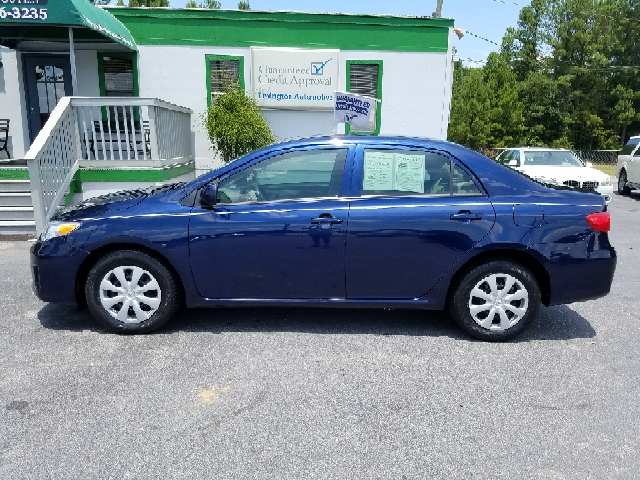 2013 TOYOTA COROLLA S 4DR SEDAN 4A blue abs - 4-wheel active head restraints - dual front air f