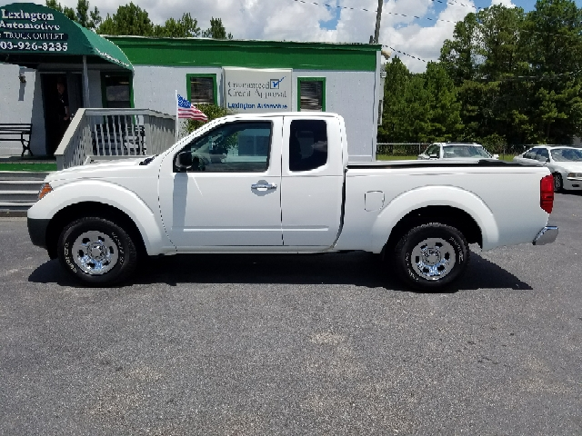 2013 NISSAN FRONTIER S 4X2 4DR KING CAB 61 FT SB PI white abs - 4-wheel active head restraints