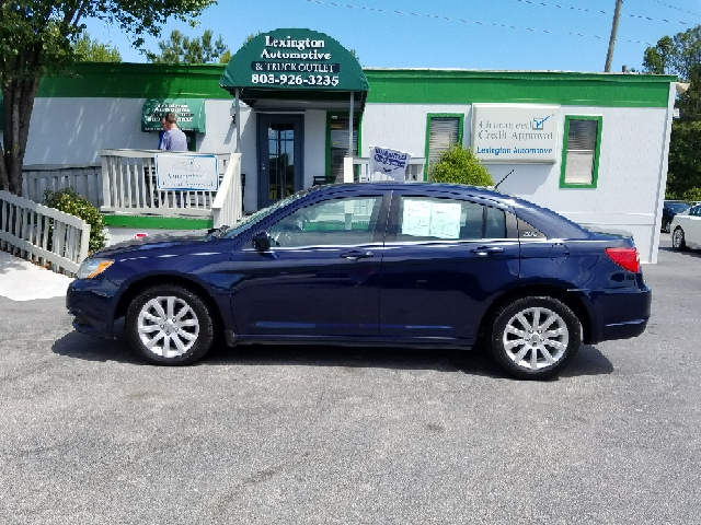 2013 CHRYSLER 200 TOURING 4DR SEDAN blue 2-stage unlocking doors abs - 4-wheel active head restr