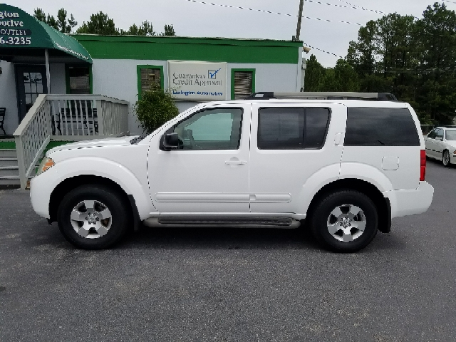 2009 NISSAN PATHFINDER S 4X4 4DR SUV white 2-stage unlocking doors 4wd selector - electronic hi-