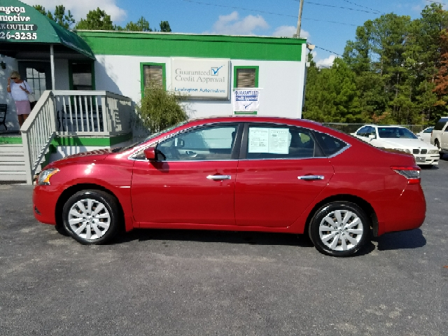 2014 NISSAN SENTRA S 4DR SEDAN CVT red 2-stage unlocking doors abs - 4-wheel active head restra