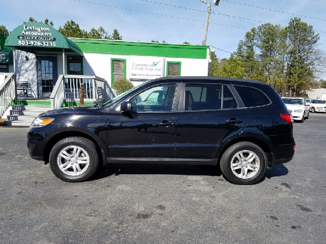 2012 HYUNDAI SANTA FE GLS AWD 4DR SUV black 2-stage unlocking doors 4wd type - on demand abs -