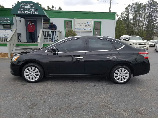 2015 NISSAN SENTRA SV 4DR SEDAN black 2-stage unlocking doors abs - 4-wheel air filtration airb