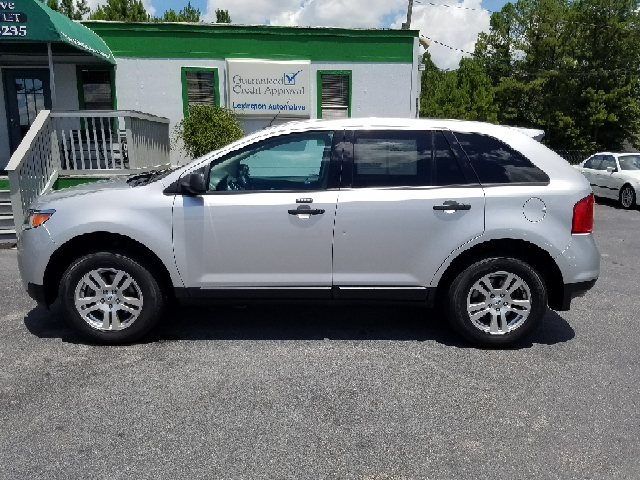 2012 FORD EDGE SE 4DR CROSSOVER silver 2-stage unlocking doors abs - 4-wheel airbag deactivatio