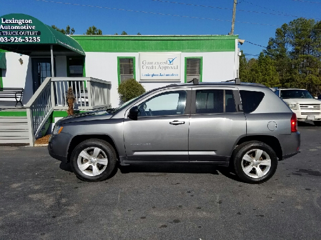 2013 JEEP COMPASS SPORT 4X4 4DR SUV gray 2-stage unlocking doors 4wd type - on demand abs - 4-w