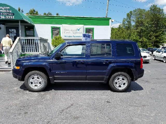 2013 JEEP PATRIOT SPORT 4X4 4DR SUV blue 2-stage unlocking doors 4wd type - on demand abs - 4-w