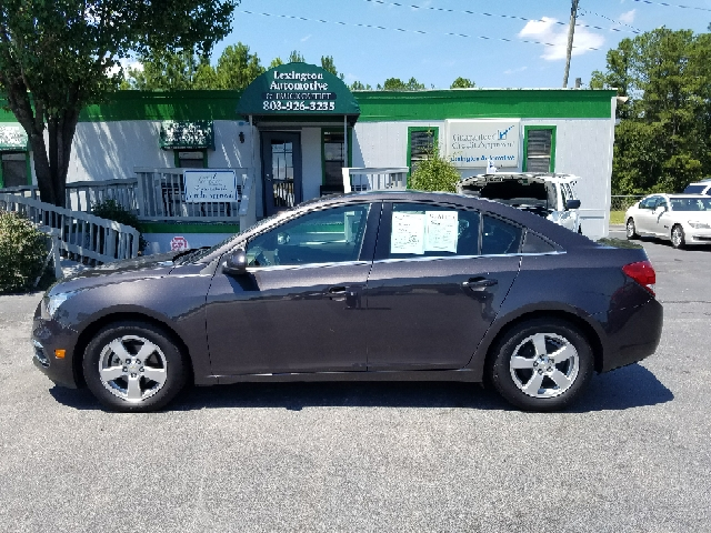 2015 CHEVROLET CRUZE 1LT AUTO 4DR SEDAN W1SD gray 2-stage unlocking doors abs - 4-wheel air fil