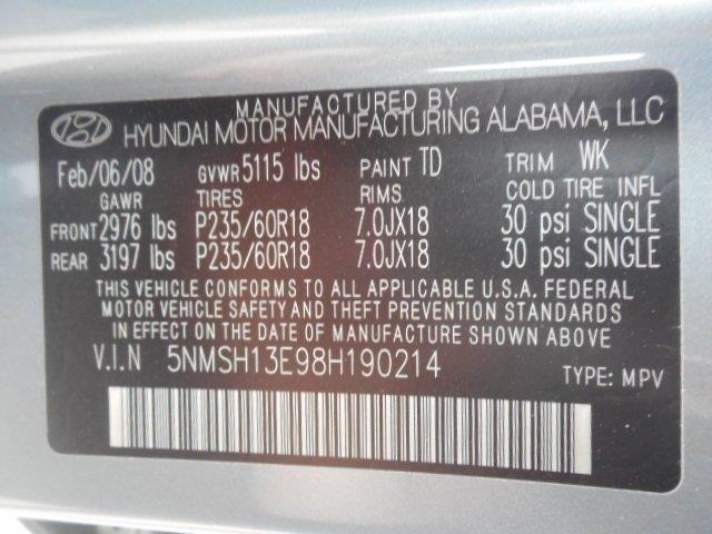 2008 Hyundai Santa Fe Limited 4dr SUV - Franklin WI