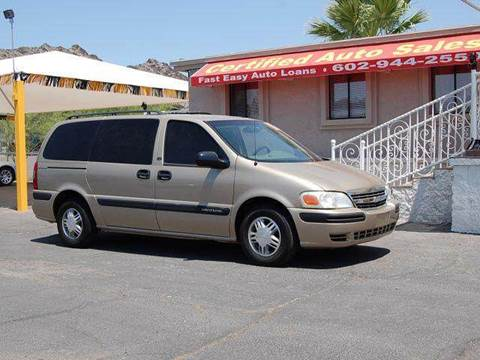 2005 Chevrolet Venture for sale in Call For More Information, AZ