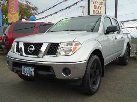 2008 Nissan Frontier for sale in Woodburn, OR