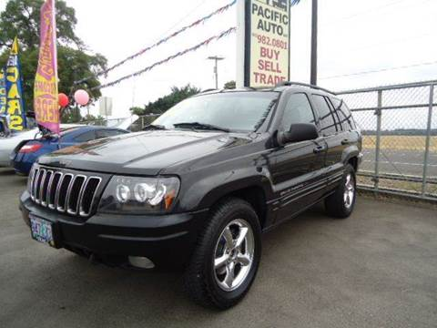 2002 Jeep Grand Cherokee for sale in Woodburn, OR