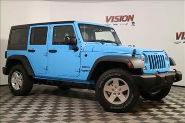 2017 Jeep Wrangler Unlimited for sale in Defiance, OH