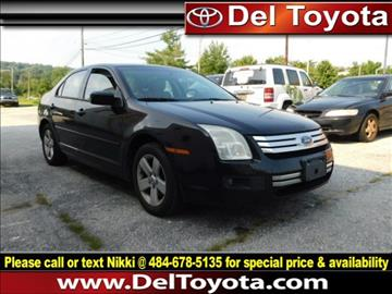 2007 Ford Fusion for sale in Thorndale, PA