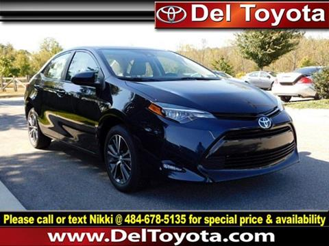 2018 Toyota Corolla for sale in Thorndale, PA
