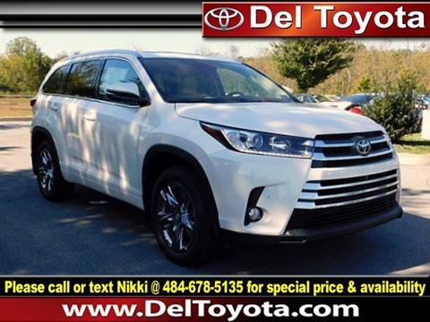 2017 Toyota Highlander for sale in Thorndale, PA
