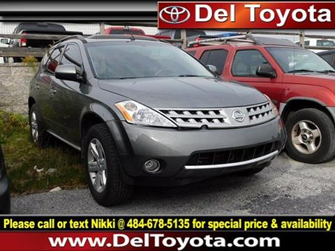 2007 Nissan Murano for sale in Thorndale, PA