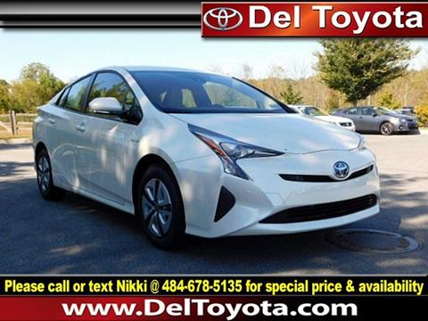2017 Toyota Prius for sale in Thorndale, PA