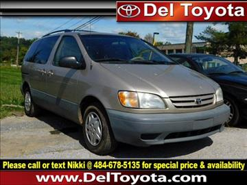 2003 Toyota Sienna for sale in Thorndale, PA