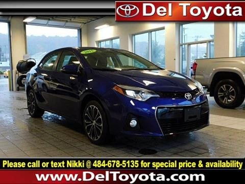 2015 Toyota Corolla for sale in Thorndale, PA