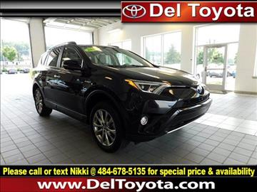 2016 Toyota RAV4 Hybrid for sale in Thorndale, PA