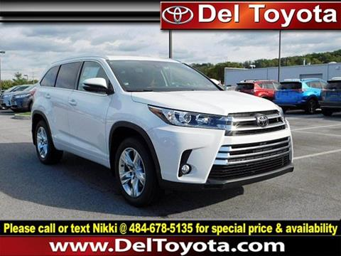 2018 Toyota Highlander for sale in Thorndale, PA