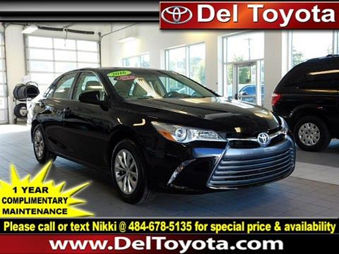 2016 Toyota Camry for sale in Thorndale, PA