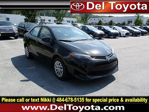 2017 Toyota Corolla for sale in Thorndale, PA
