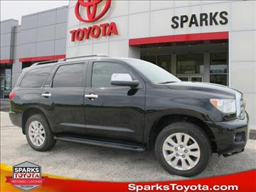 2013 Toyota Sequoia for sale in Myrtle Beach, SC