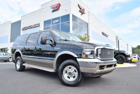 2000 Ford Excursion for sale in Chantilly, VA